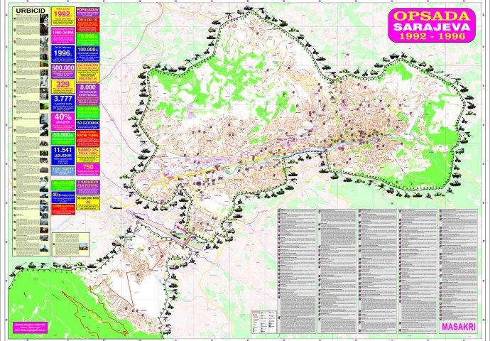 Fikret Logic Napravio Mapu Opsade Sarajeva Pogledajte Detalje Sa