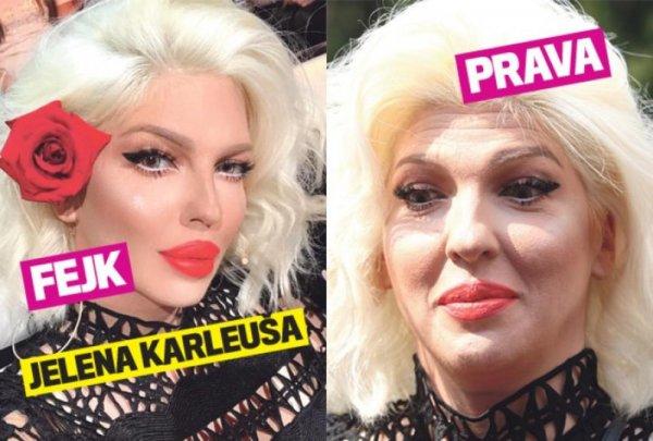 Zbog ovoga je stalno prozivaju: Pogledajte kako JELENA KARLEUŠA IZGLEDA BEZ PHOTOSHOPA! | Novi.ba
