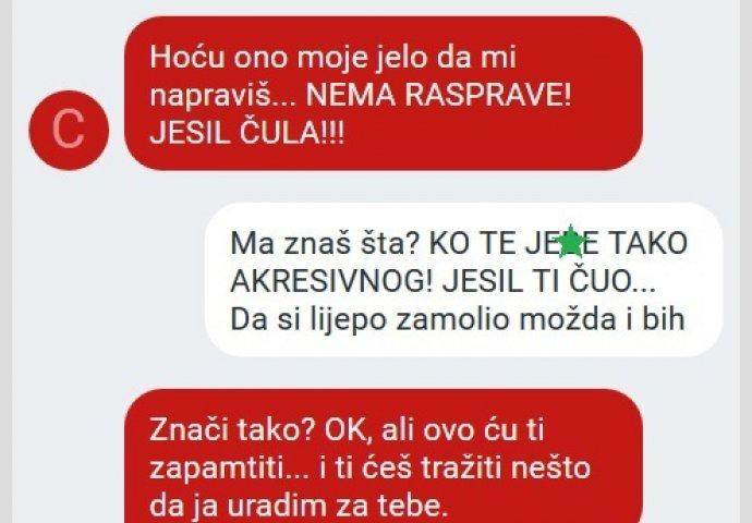Zene bosna chat NE SMEJU