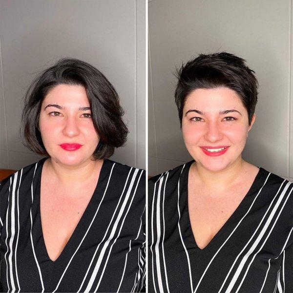 OVE ŽENE SU OTIŠLE FRIZERU I REKLE DA ŽELE TRANSFORMACIJU: Odrezao im je  skoro svu kosu, EVO KAKVE U IZAŠLE IZ FRIZERSKOG SALONA (FOTO) | Novi.ba